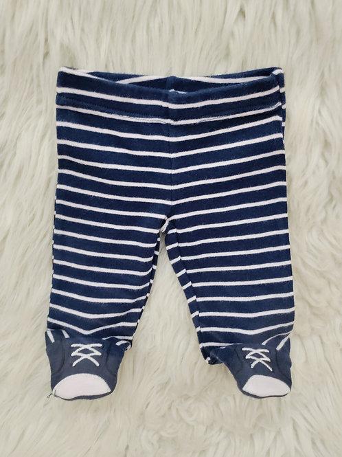'Carters' *Stripped* Footie Pants| PREEMIE