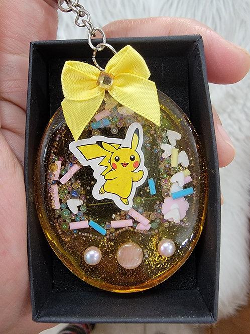 *Pikachu* Keychain Shaker| HOMEMADE