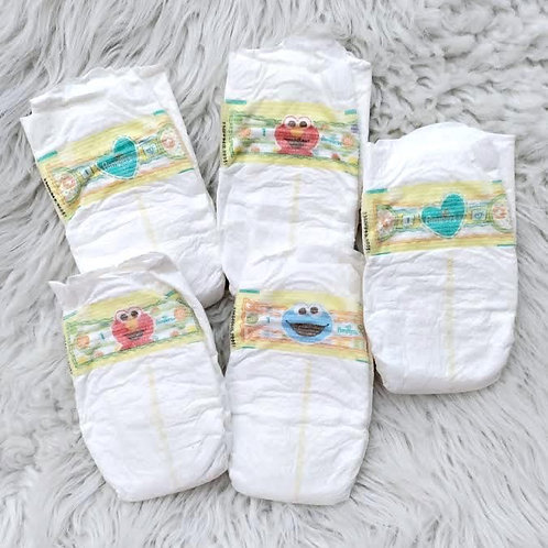 'Sesame Street' PAMPERS *5 Diapers Set*| SIZE 1