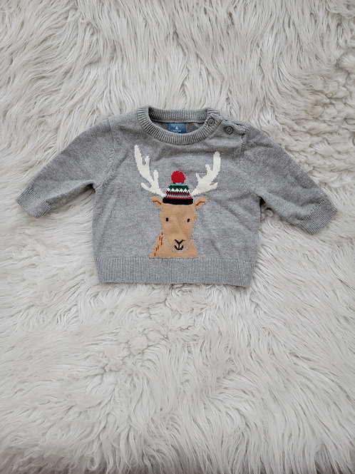 Baby Gap Reindeer Sweater | 3 Months