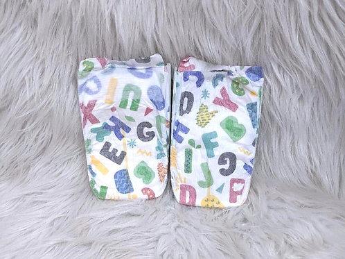 'ABCs' Diaper (Size 1)