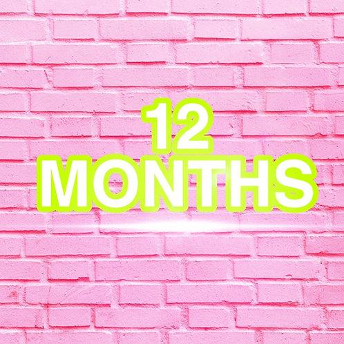 12 Months Clothes