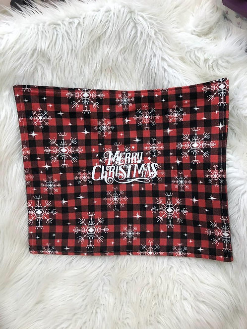'Merry Christmas'| Customized Carseat Blanket