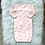 Thumbnail: VINTAGE 'Carters' Pink Snail Gown| 0-3 MONTHS