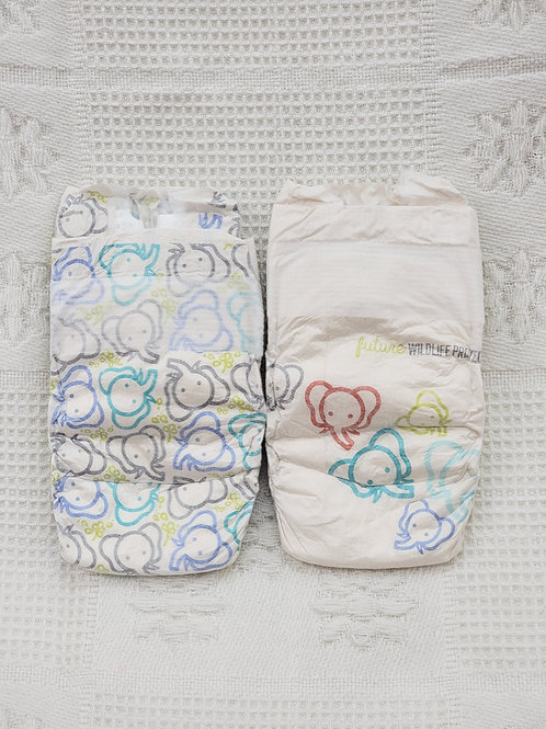 Size 2| 'Seventh Generation' Diapers 🐘| Set of 2