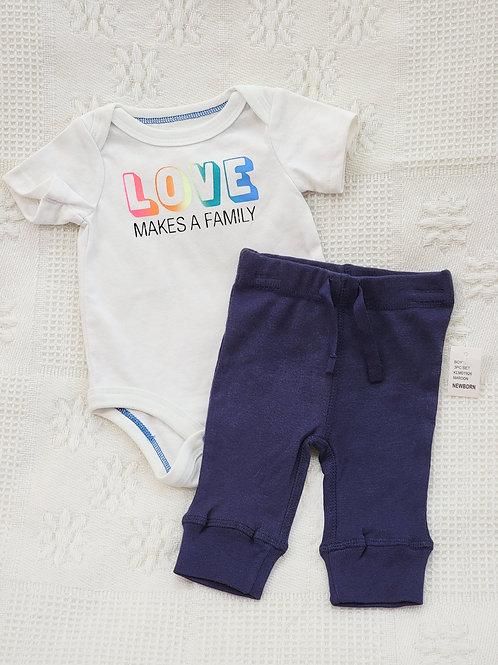 NB  'Koala Baby' 'Cat and Jack' Onesie & Pants NWT