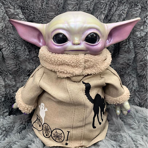 'Halloween Yoda' Doll| by tea.artistry