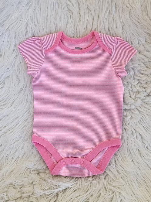 'Gymboree' *pink stripped* Onesie | 0-3 MONTHS