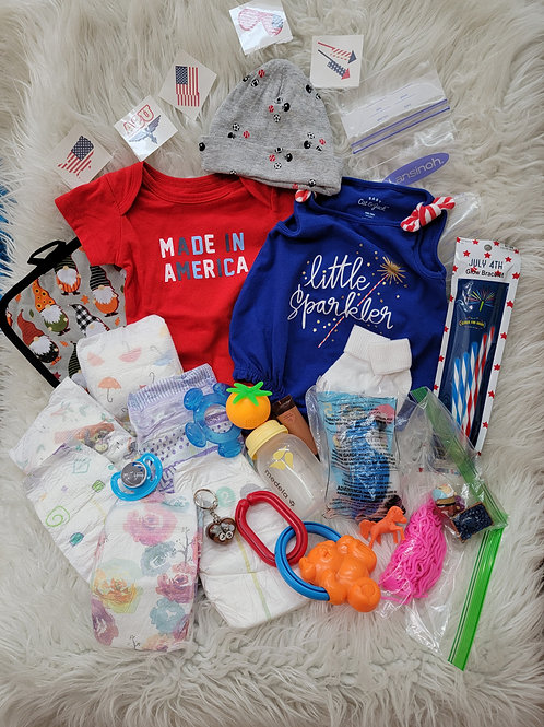 American Theme| Newborn |  Fun Bag! (A5)