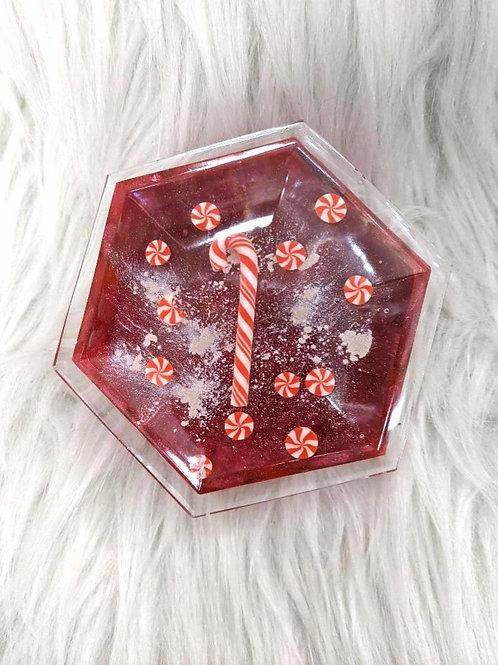 'Candy Cane & Peppermints'| Handmade Trinket Box