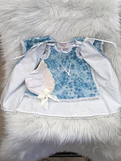 Handmade Christmas Baby Layette