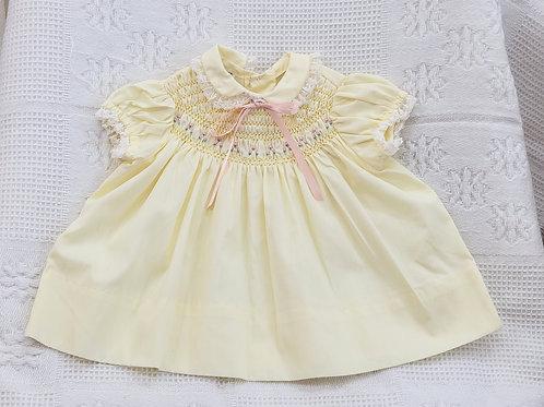 3-9 MONTHS  'Polly Flinders' Vintage Dress