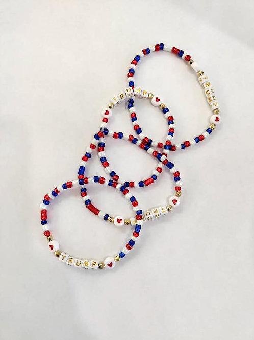 Created by Steff  'TRUMP' Bracelet