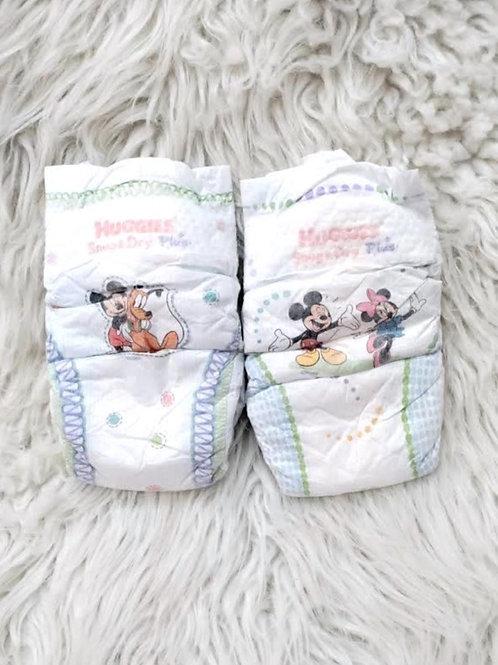 Mickey, Minnie, & Pluto *2 Diapers Set*  SIZE 3