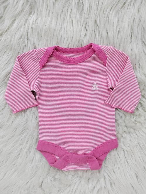 'Baby Gap' *Pink Stripped* Onesie  PREEMIE