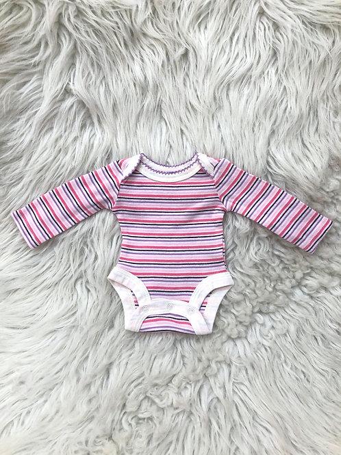 'Babies R Us' Stripped Onesie| PREEMIE