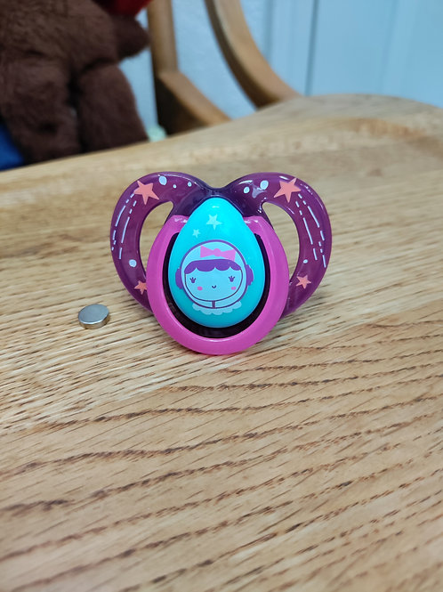 Space Girl Pacifier