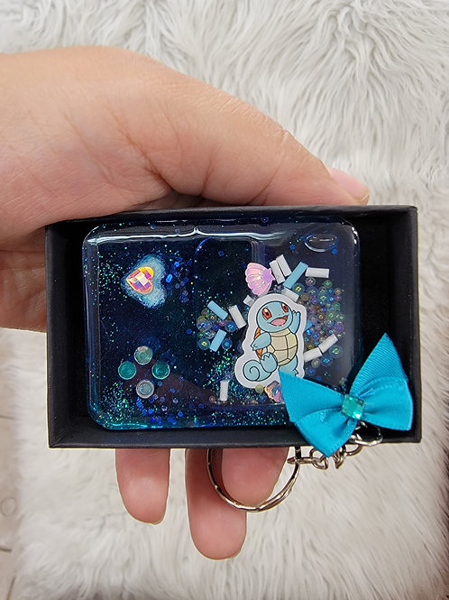 *Squirtle* Keychain Shaker  HOMEMADE