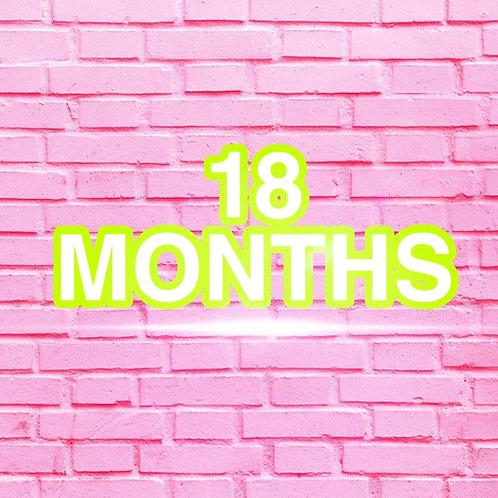 18 Months Clothes