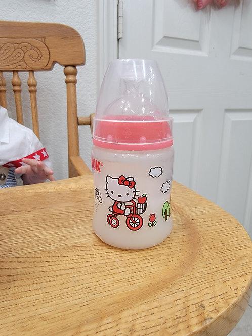 Hello Kitty  'Nuk' Fake Formula Bottle for Reborn Doll Bottle