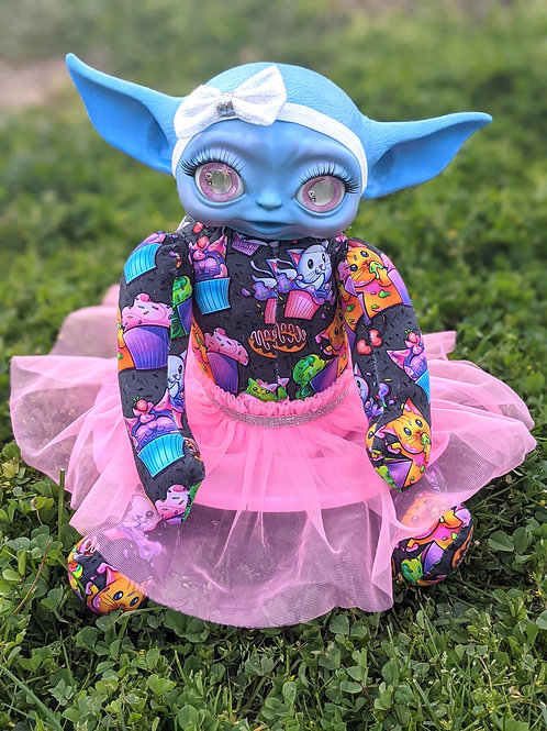 Cat-Tastic Yoda Girl