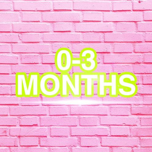 0-3 Months Clothes