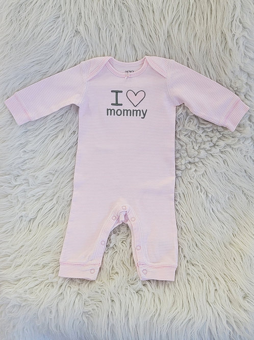 'Carters' *i love mommy* Romper   3 MONTHS