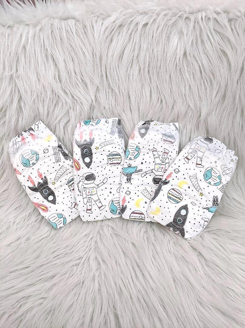 'Space' Diapers| Honest| SIZE: 1