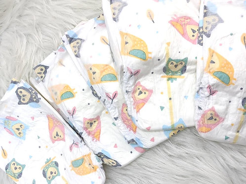 Owls Diapers (NB)