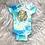 Thumbnail: WATERCOLOR Onesie by Steff and Jackie (Taurus)| NB