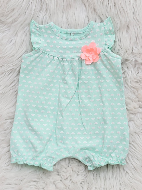 'Just One You' Mint Romper   3 months
