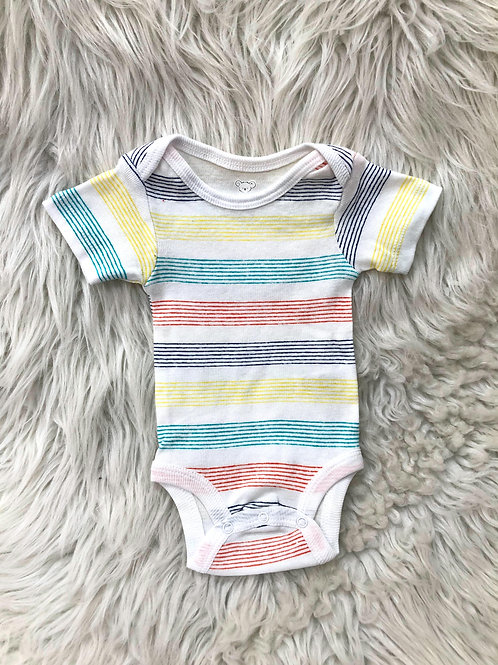 'Koala Baby' *Colorful Stripped Onesie* NWOT| Newborn