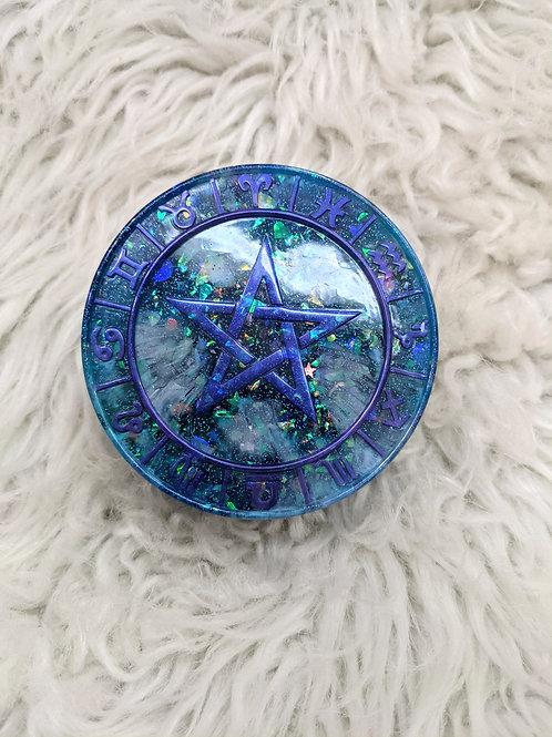 Horoscope | Blue | Handmade Trinket Box