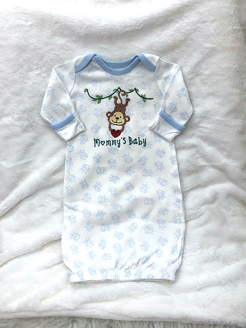 """""""Mommy's Baby"""" Monkey Gown