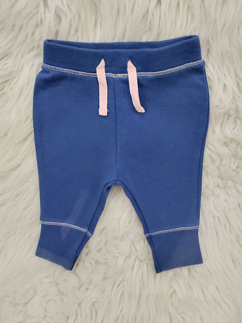'Cat & Jack' Blue and Pink Pants  0-3 MONTHS