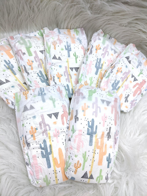 Cacti Diapers (Size 1)