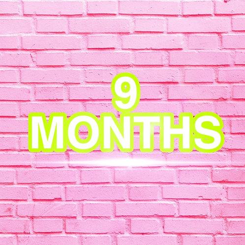 9 Months Clothes