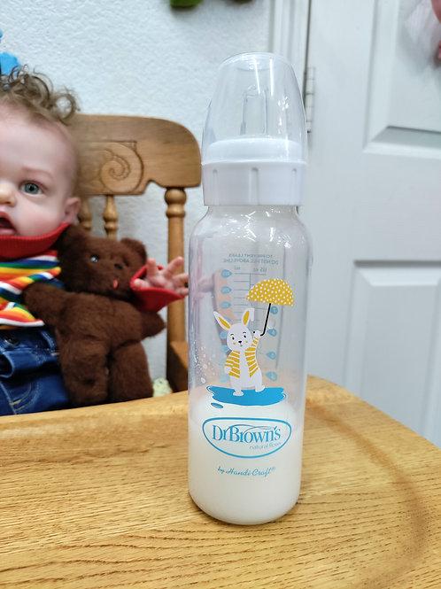 Rabbit Toddler Fake Formula Reborn Bottle