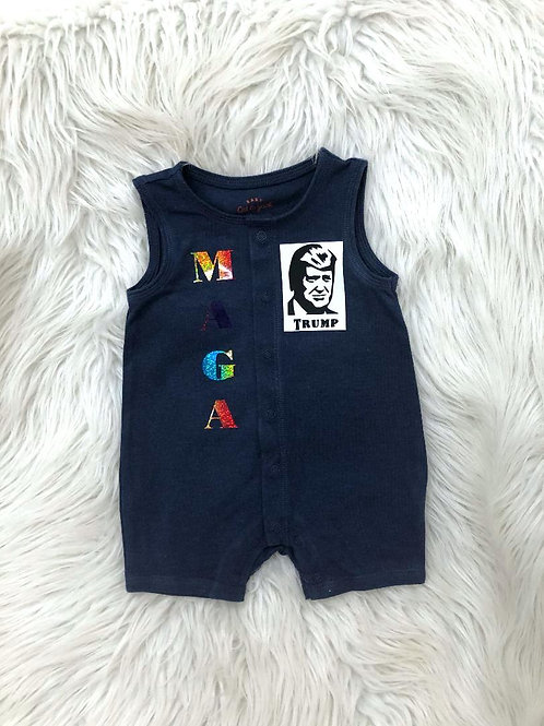 Customized Romper| 0-3 MONTHS