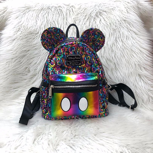 Loungefly Sequin Disneyland Bag