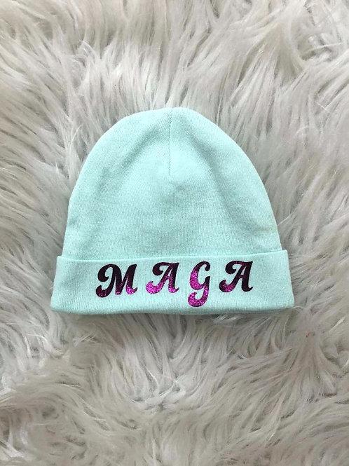 Patriotic Baby Hat| MAGA '45'| NEWBORN