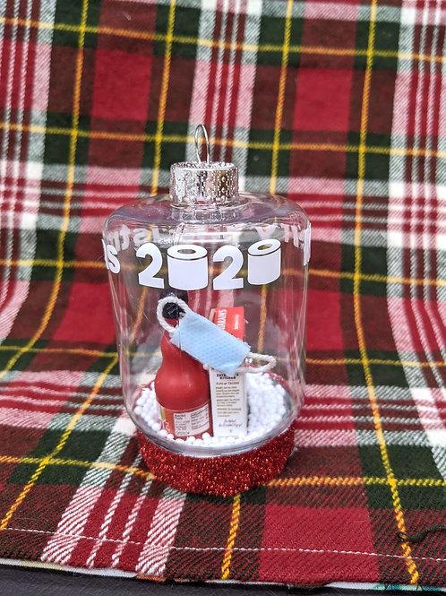 OOAK 'Merry Christmas 2020'| Handmade Ornament 'MINI BRANDS' #2
