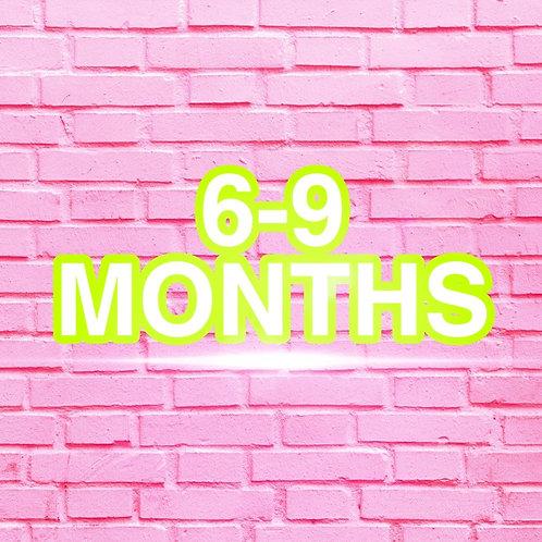 6-9 Months Clothes