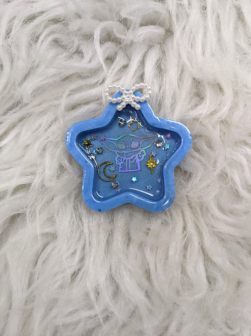 'The Child'| 3D | Blue Star Magnet