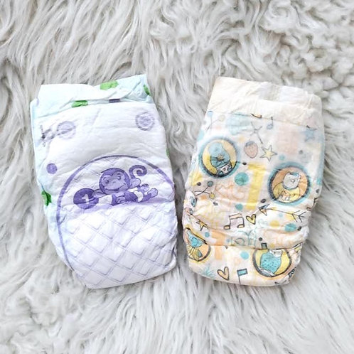 2 Diapers Set  SIZE 1
