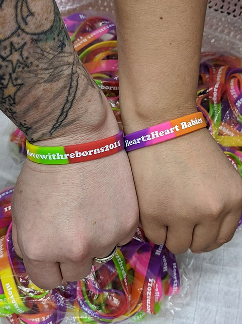 Limited Edition Silicone Bracelets