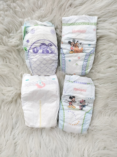 '4 Diapers' Set  SIZE 1