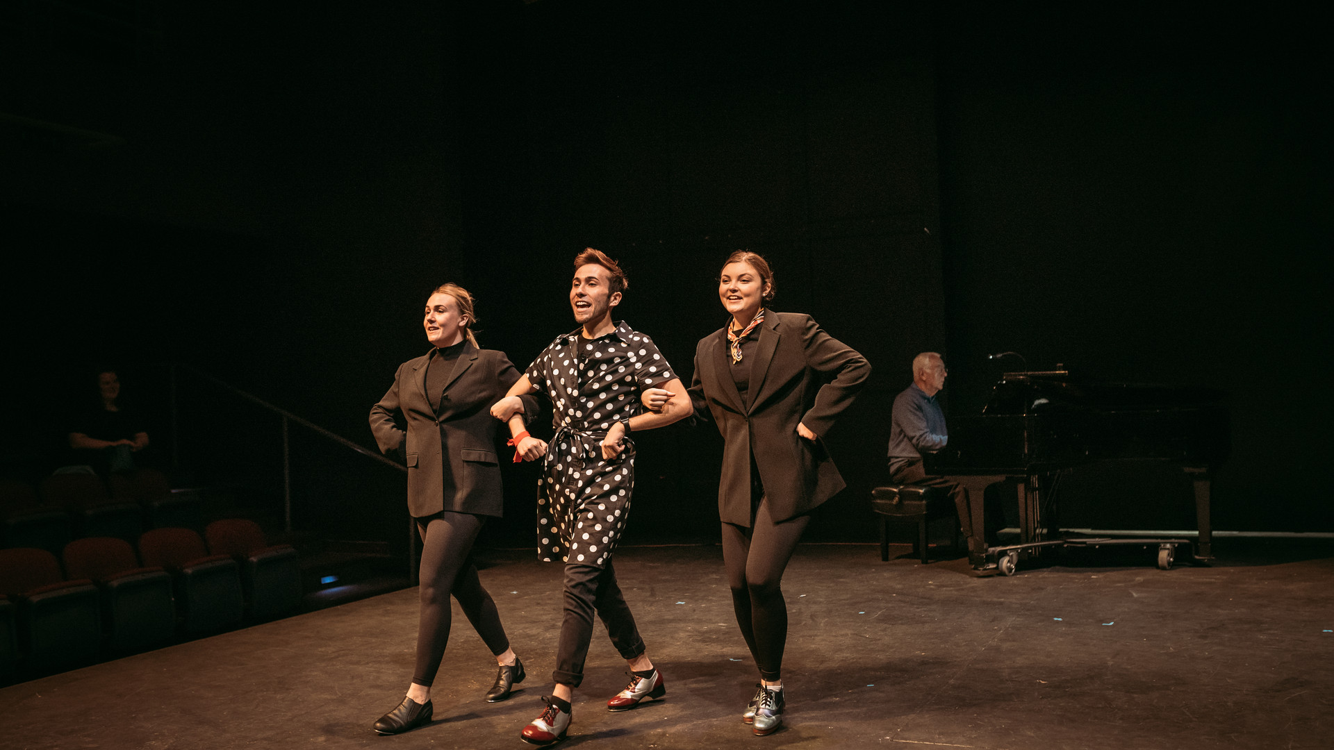 """Good Mornin'"" from Singin' in the Rain (Annie Cahill, Keaton Brandt, Savanna Worthington)"