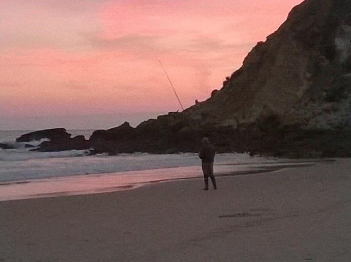 Pescando no burgau