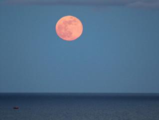 A nossa Lua Cheia do Mês de Maio